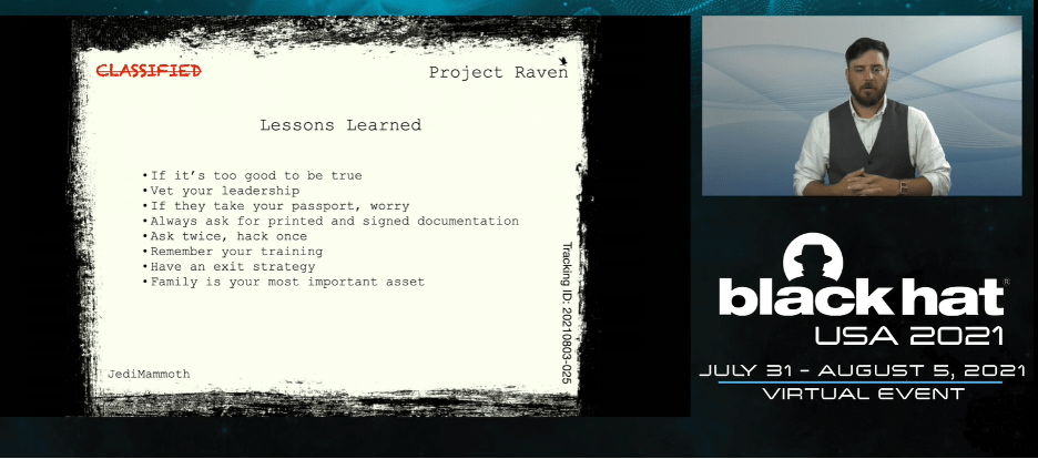 Black Hat 2021 - David Evenden